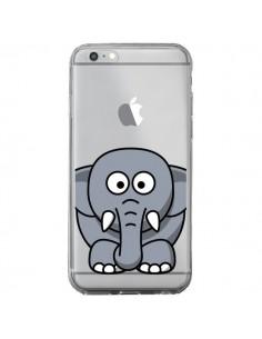 Coque iPhone 6 Plus et 6S Plus Elephant Animal Transparente - Yohan B.