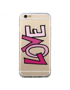 Coque Love Amour Transparente pour iPhone 6 et 6S - Yohan B.
