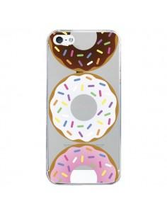 Coque iPhone 5/5S et SE Bagels Bonbons Transparente - Yohan B.