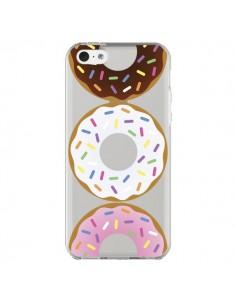 Coque iPhone 5C Bagels Bonbons Transparente - Yohan B.