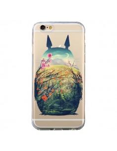 Coque Totoro Manga Comics Transparente pour iPhone 6 et 6S - Victor Vercesi