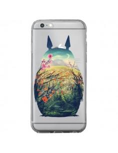 Coque Totoro Manga Comics Transparente pour iPhone 6 Plus et 6S Plus - Victor Vercesi