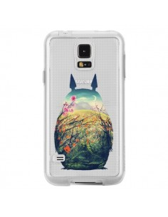 Coque Totoro Manga Comics Transparente pour Samsung Galaxy S5 - Victor Vercesi