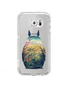 Coque Totoro Manga Comics Transparente pour Samsung Galaxy S6 - Victor Vercesi