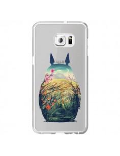 Coque Totoro Manga Comics Transparente pour Samsung Galaxy S6 Edge Plus - Victor Vercesi