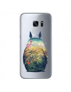 Coque Totoro Manga Comics Transparente pour Samsung Galaxy S7 - Victor Vercesi