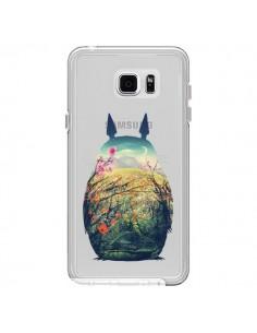 Coque Totoro Manga Comics Transparente pour Samsung Galaxy Note 5 - Victor Vercesi