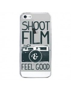 Coque iPhone 5/5S et SE Shoot Film and Feel Good Transparente - Victor Vercesi