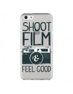Coque iPhone 5C Shoot Film and Feel Good Transparente - Victor Vercesi