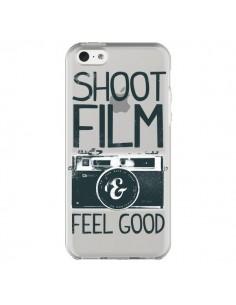Coque Shoot Film and Feel Good Transparente pour iPhone 5C - Victor Vercesi