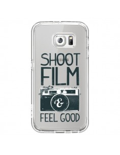 Coque Shoot Film and Feel Good Transparente pour Samsung Galaxy S6 - Victor Vercesi