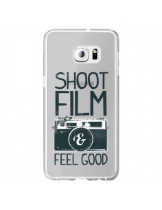 Coque Shoot Film and Feel Good Transparente pour Samsung Galaxy S6 Edge Plus - Victor Vercesi