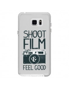 Coque Shoot Film and Feel Good Transparente pour Samsung Galaxy Note 5 - Victor Vercesi