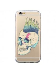 Coque Tête de Mort Crane Punk Transparente pour iPhone 6 et 6S - Victor Vercesi