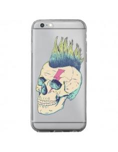 Coque Tête de Mort Crane Punk Transparente pour iPhone 6 Plus et 6S Plus - Victor Vercesi