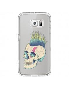 Coque Tête de Mort Crane Punk Transparente pour Samsung Galaxy S6 - Victor Vercesi