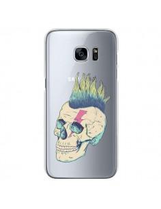 Coque Tête de Mort Crane Punk Transparente pour Samsung Galaxy S7 - Victor Vercesi