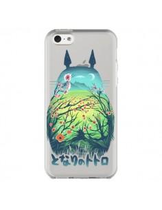 Coque Totoro Manga Flower Transparente pour iPhone 5C - Victor Vercesi
