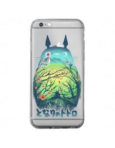 Coque Totoro Manga Flower Transparente pour iPhone 6 Plus et 6S Plus - Victor Vercesi