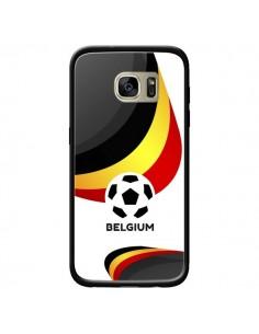 Coque Equipe Belgique Football pour Samsung Galaxy S7 Edge - Madotta