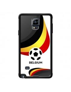 Coque Equipe Belgique Football pour Samsung Galaxy Note 4 - Madotta
