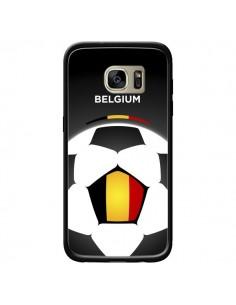 Coque Belgique Ballon Football pour Samsung Galaxy S7 Edge - Madotta