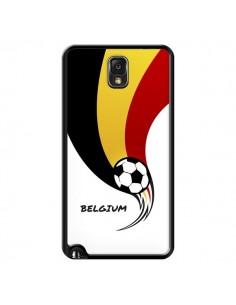 Coque Equipe Belgique Belgium Football pour Samsung Galaxy Note III - Madotta