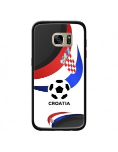 Coque Equipe Croatie Football pour Samsung Galaxy S7 Edge - Madotta