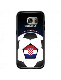 Coque Croatie Ballon Football pour Samsung Galaxy S7 Edge - Madotta