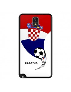 Coque Equipe Croatie Croatia Football pour Samsung Galaxy Note III - Madotta