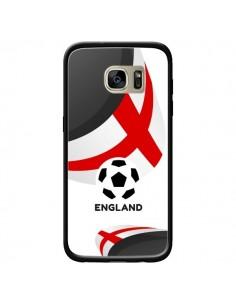 Coque Equipe Angleterre Football pour Samsung Galaxy S7 Edge - Madotta