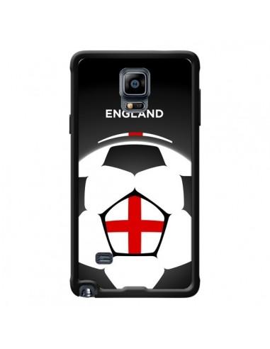Coque Angleterre Ballon Football pour Samsung Galaxy Note 4 - Madotta