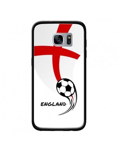 Coque Equipe Angleterre England Football pour Samsung Galaxy S7 - Madotta