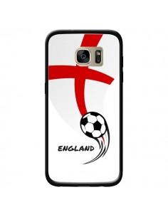 Coque Equipe Angleterre England Football pour Samsung Galaxy S7 Edge - Madotta