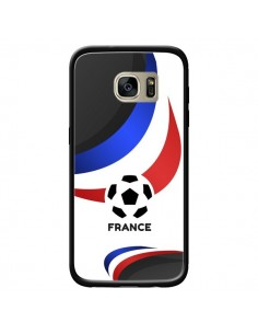 Coque Equipe France Football pour Samsung Galaxy S7 Edge - Madotta