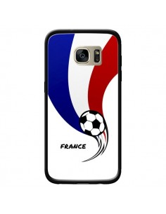 Coque Equipe France Ballon Football pour Samsung Galaxy S7 Edge - Madotta