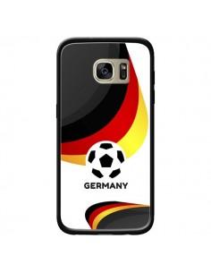 Coque Equipe Allemagne Football pour Samsung Galaxy S7 Edge - Madotta