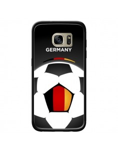 Coque Allemagne Ballon Football pour Samsung Galaxy S7 Edge - Madotta