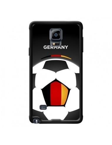 Coque Allemagne Ballon Football pour Samsung Galaxy Note 4 - Madotta