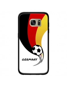 Coque Equipe Allemagne Germany Football pour Samsung Galaxy S7 Edge - Madotta