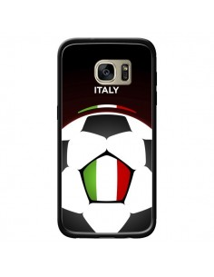 Coque Italie Ballon Football pour Samsung Galaxy S7 Edge - Madotta
