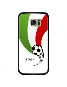 Coque Equipe Italie Italia Football pour Samsung Galaxy S7 Edge - Madotta