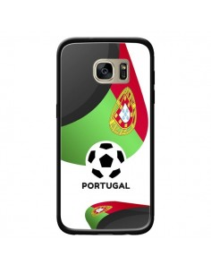 Coque Equipe Portugal Football pour Samsung Galaxy S7 Edge - Madotta