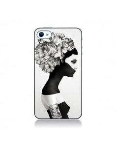 Coque Marianna Fille Fleurs pour iPhone 4/4S - Ruben Ireland et Jenny Liz Rome