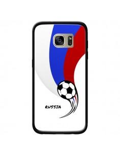 Coque Equipe Russie Russia Football pour Samsung Galaxy S7 Edge - Madotta