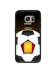 Coque Espagne Ballon Football pour Samsung Galaxy S7 Edge - Madotta