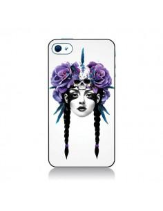 Coque Fille Fleurs Warrior pour iPhone 4 et 4S - Ruben Ireland