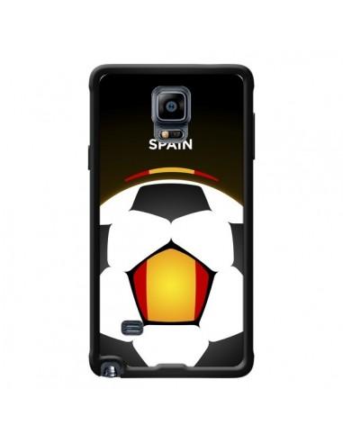 Coque Espagne Ballon Football pour Samsung Galaxy Note 4 - Madotta