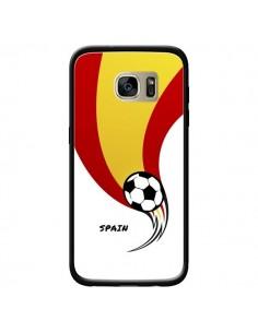 Coque Equipe Espagne Spain Football pour Samsung Galaxy S7 Edge - Madotta