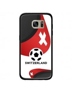 Coque Equipe Suisse Football pour Samsung Galaxy S7 Edge - Madotta
